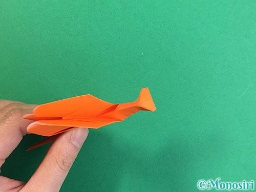 折り紙でトンボの折り方手順38