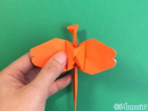 折り紙でトンボの折り方手順40