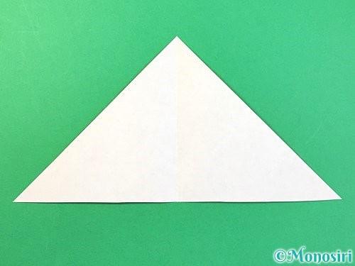折り紙でトンボの折り方手順5