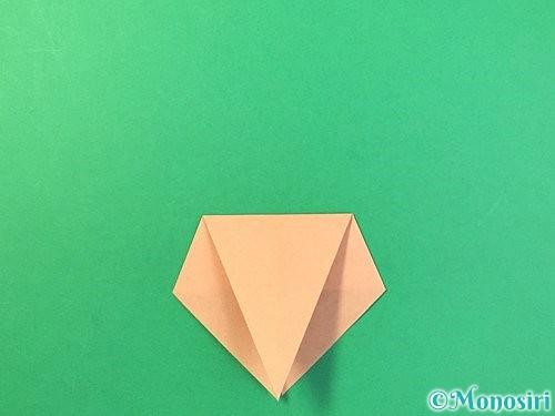 折り紙でトンボの折り方手順9