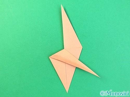 折り紙でトンボの折り方手順24
