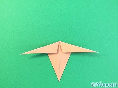 折り紙でトンボの折り方手順27