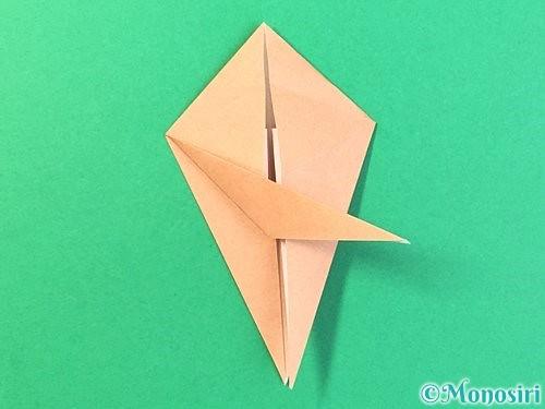 折り紙でトンボの折り方手順42