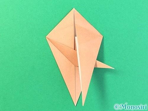 折り紙でトンボの折り方手順43