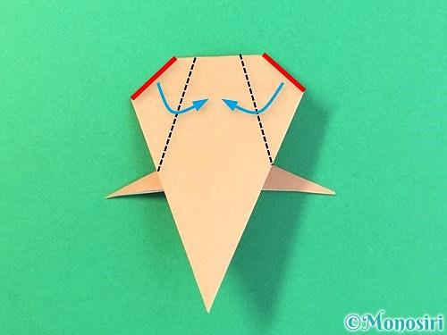 折り紙でトンボの折り方手順50