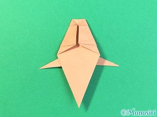折り紙でトンボの折り方手順51