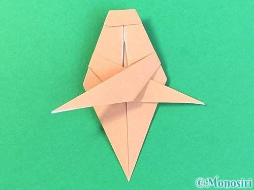 折り紙でトンボの折り方手順52