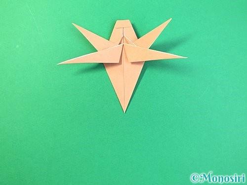 折り紙でトンボの折り方手順57