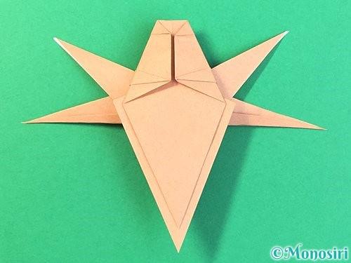 折り紙でトンボの折り方手順58