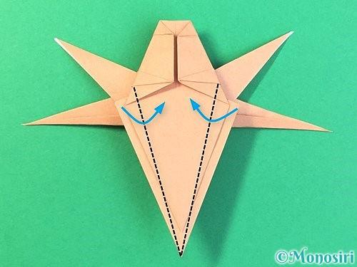 折り紙でトンボの折り方手順59
