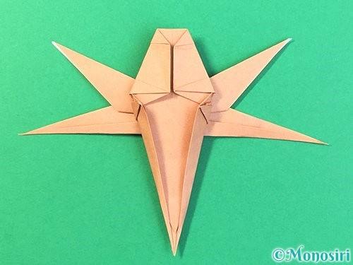 折り紙でトンボの折り方手順60