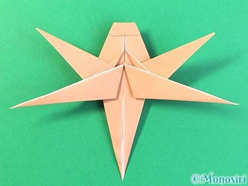 折り紙でトンボの折り方手順61