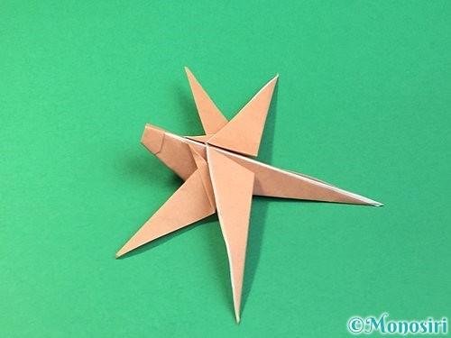 折り紙でトンボの折り方手順64