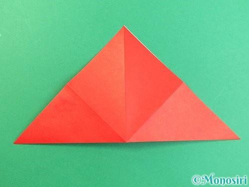 折り紙でもみじの切り方手順7
