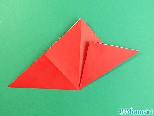 折り紙でもみじの切り方手順9