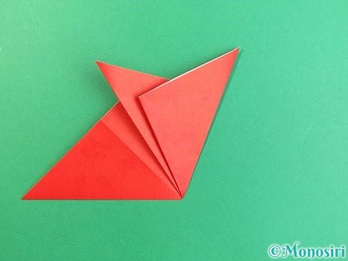 折り紙でもみじの切り方手順11