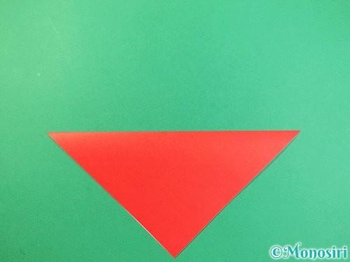 折り紙でもみじの折り方手順2