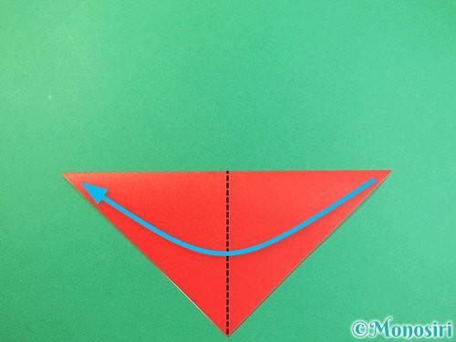 折り紙でもみじの折り方手順3