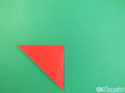折り紙でもみじの折り方手順4