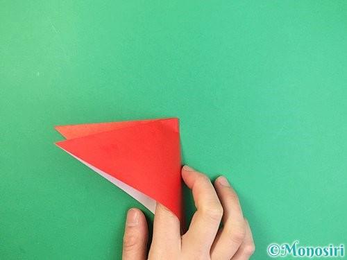 折り紙でもみじの折り方手順5