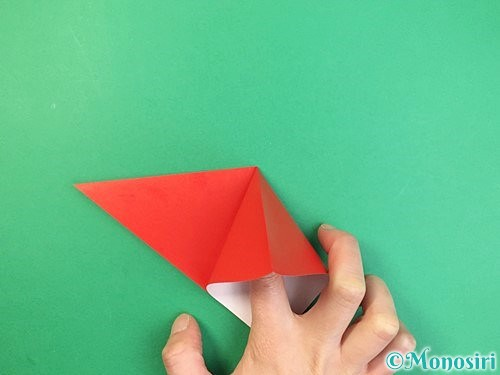 折り紙でもみじの折り方手順6