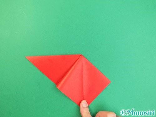 折り紙でもみじの折り方手順7