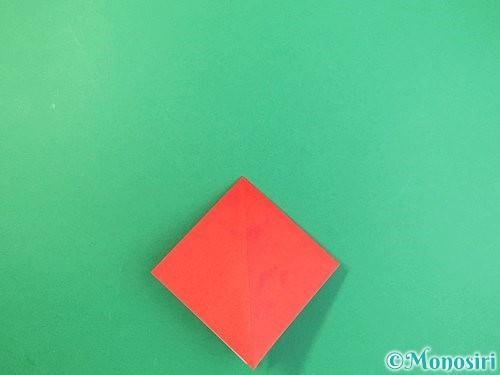 折り紙でもみじの折り方手順9