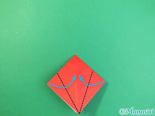折り紙でもみじの折り方手順10