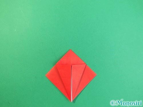 折り紙でもみじの折り方手順11