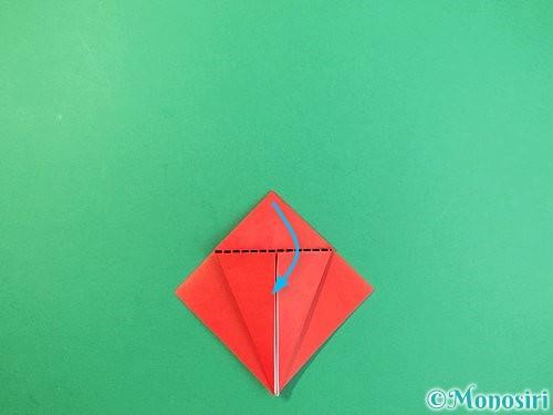 折り紙でもみじの折り方手順12