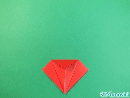 折り紙でもみじの折り方手順13