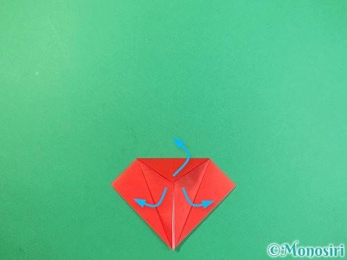 折り紙でもみじの折り方手順14