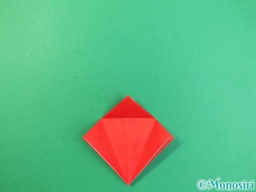 折り紙でもみじの折り方手順15