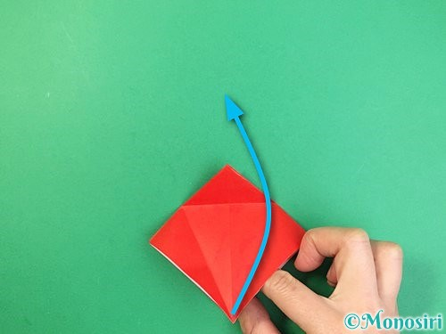 折り紙でもみじの折り方手順16