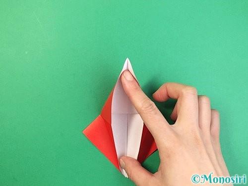 折り紙でもみじの折り方手順17