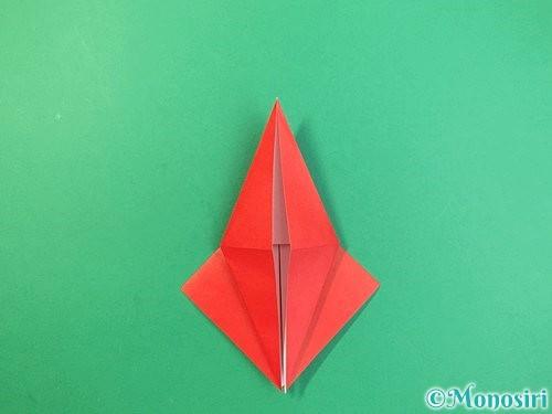 折り紙でもみじの折り方手順18