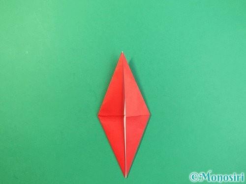 折り紙でもみじの折り方手順19