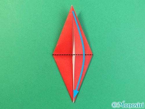 折り紙でもみじの折り方手順20