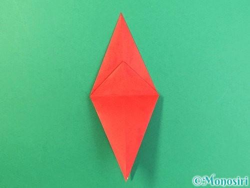 折り紙でもみじの折り方手順21