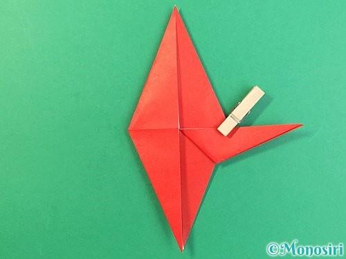 折り紙でもみじの折り方手順24