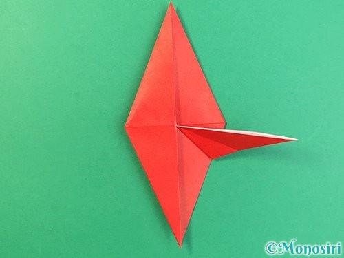折り紙でもみじの折り方手順26