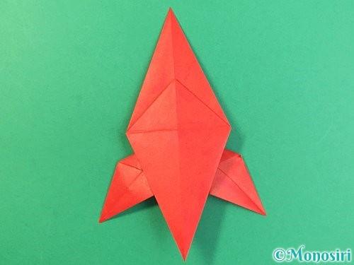 折り紙でもみじの折り方手順31