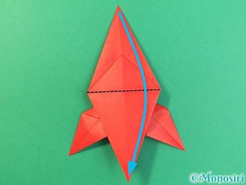 折り紙でもみじの折り方手順32