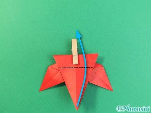 折り紙でもみじの折り方手順34