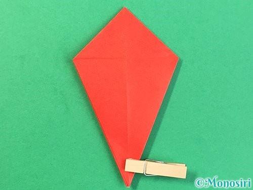 折り紙でもみじの折り方手順22