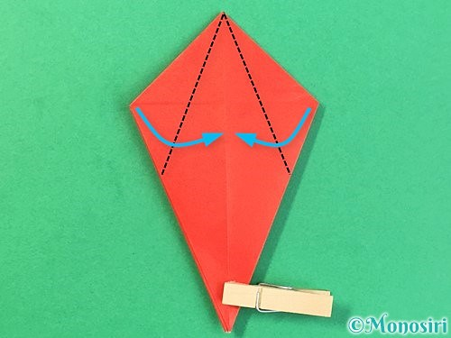 折り紙でもみじの折り方手順23