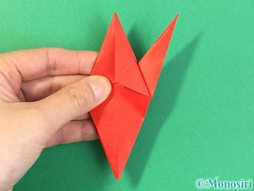 折り紙でもみじの折り方手順30