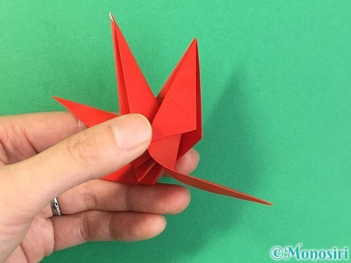 折り紙でもみじの折り方手順40