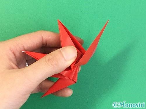 折り紙でもみじの折り方手順41