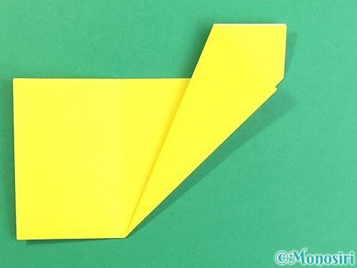 折り紙でいちょうの切り方手順8